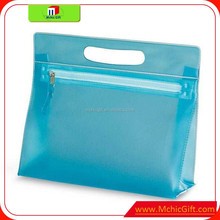 Ex-factory price /clear pvc zipper bag/clear pvc pouch