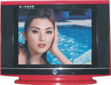 21 inch Color Slim Ultra CRT TV Price directly from Guangzhou factory