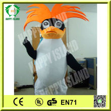 HI EN71 high quality mascot costume turkey