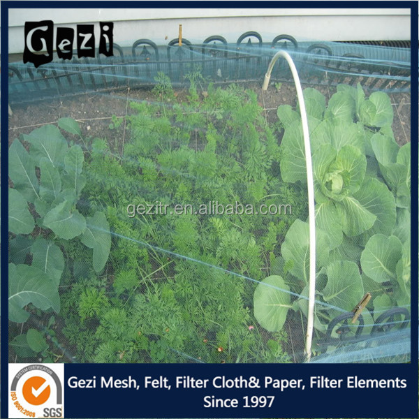 Gezi factory ISO supply insect net vegetable net shed garden anti insect net