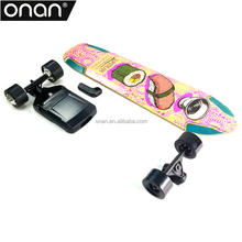 Max mileage 25KM Electric mountain board with wireless remote control