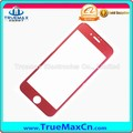 Competitive Price Anti-fingerprint Red Tempered Glass for iPhone 7, for iPhone 7 Screen Protector