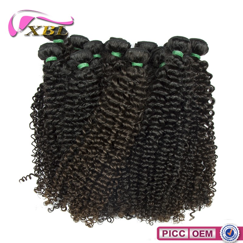 Wholesale top quality bulk sales raw virgin remy natural curly