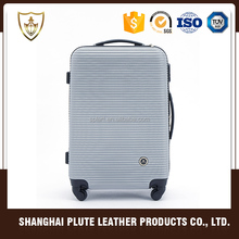 Professional new design durable travel suitcase and abs trolley case luggage