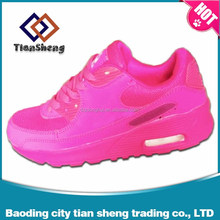 Flyknit air cushion racer calzado shoe wholesale cheap running shoes