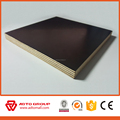 Eco-friendly Construction phenolic 18mm pine film faced plywood