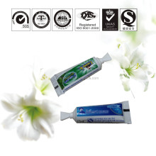 Hotel mini small charcoal toothpaste Hotel teeth whitening disposable toothpaste small package toothpaste wholesale