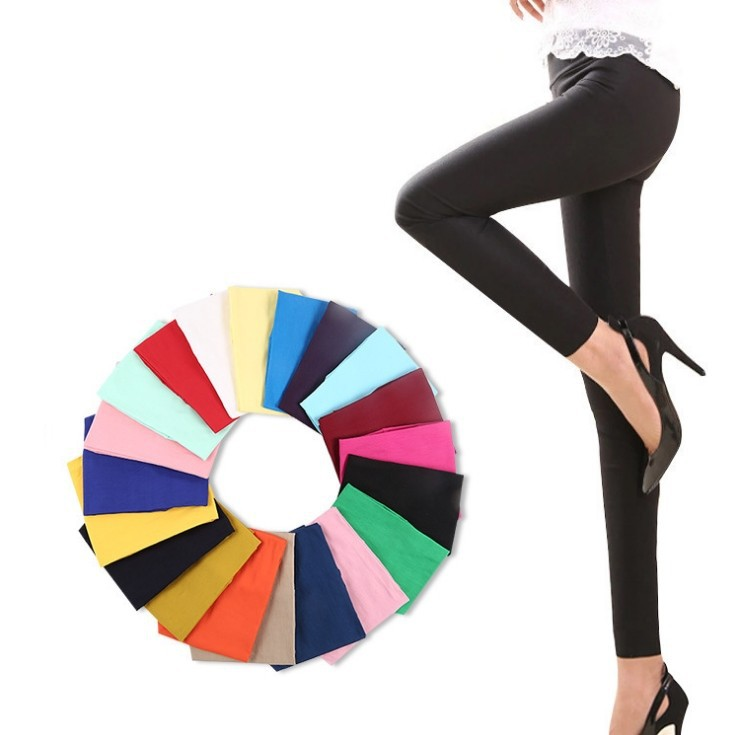 Women Skinny Colorful Jeggings Stretchy Sexy Pencil Pants