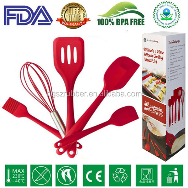100% BPA free Red silicon kitchen item
