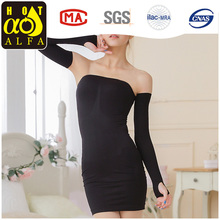 Hot Sexy Women's Seamless Strapless Control Slip Dresses Y65