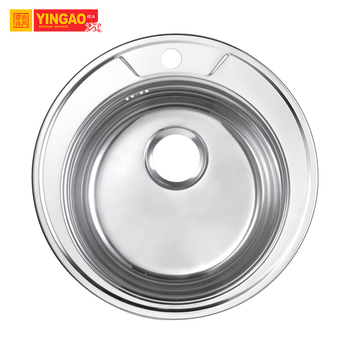 Commercial Single Bowl SS 304 Stainless Steel Restaurant Kitchen Sink