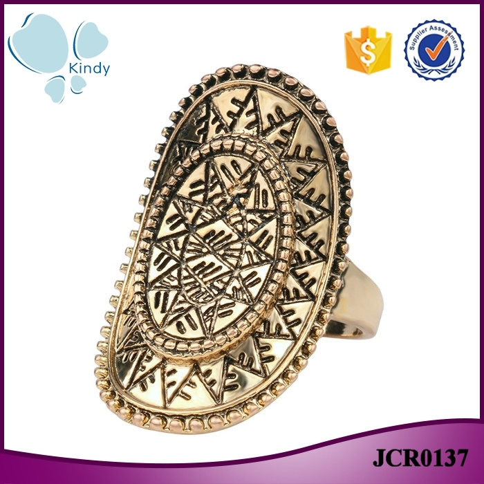 Yiwu factory wholesale under dollar items gold finger ring designs for girls