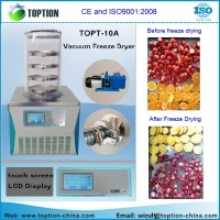 CE & ISO certified New Condition and Vacuum Drying Equipment freeze dryer Type vacuum freeze dryer for meat fruit and vegetable