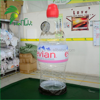 Giant 2m PVC Advertising Inflatable Water Bottle