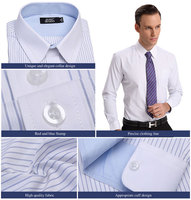 Slim Fit Business Mens Dress White Shirts Made in China