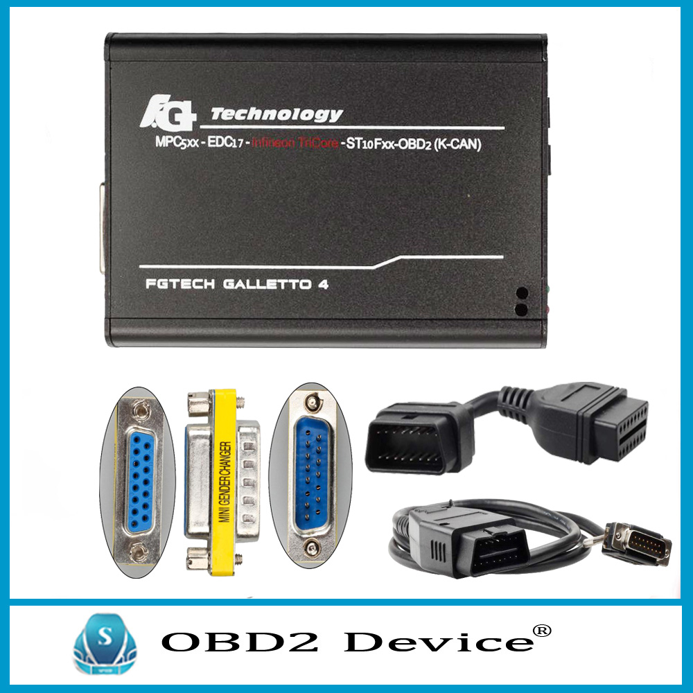 Professional Fgtech Galletto V54 Master Unlock Version Fgtech Galletto 4 Master V54 Work for BDM-OBD Support Tricore Function
