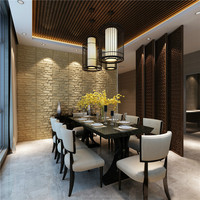 decoration/hotel/bedroom/restaurant 3d wall panel