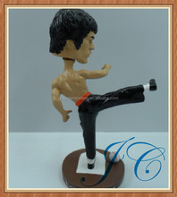 Popular Bruce LEE modeling bobble head for promotional gifts