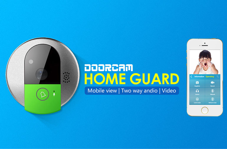 VStarcam Smart Home Plug and Play 720p outdoor wireless doorbell camera