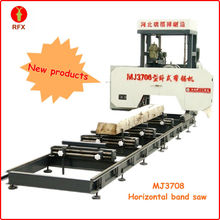 New High precision MJ3708 Series CNC Precise Horizontal Band saw timber cutting machine