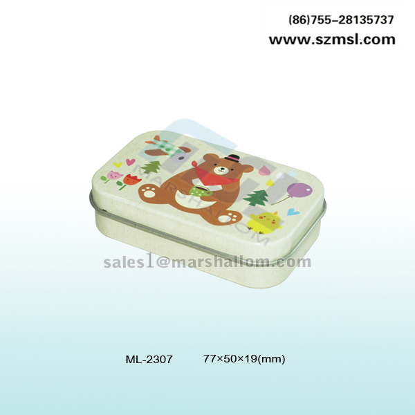 metal tin can stationery packing can pencil can