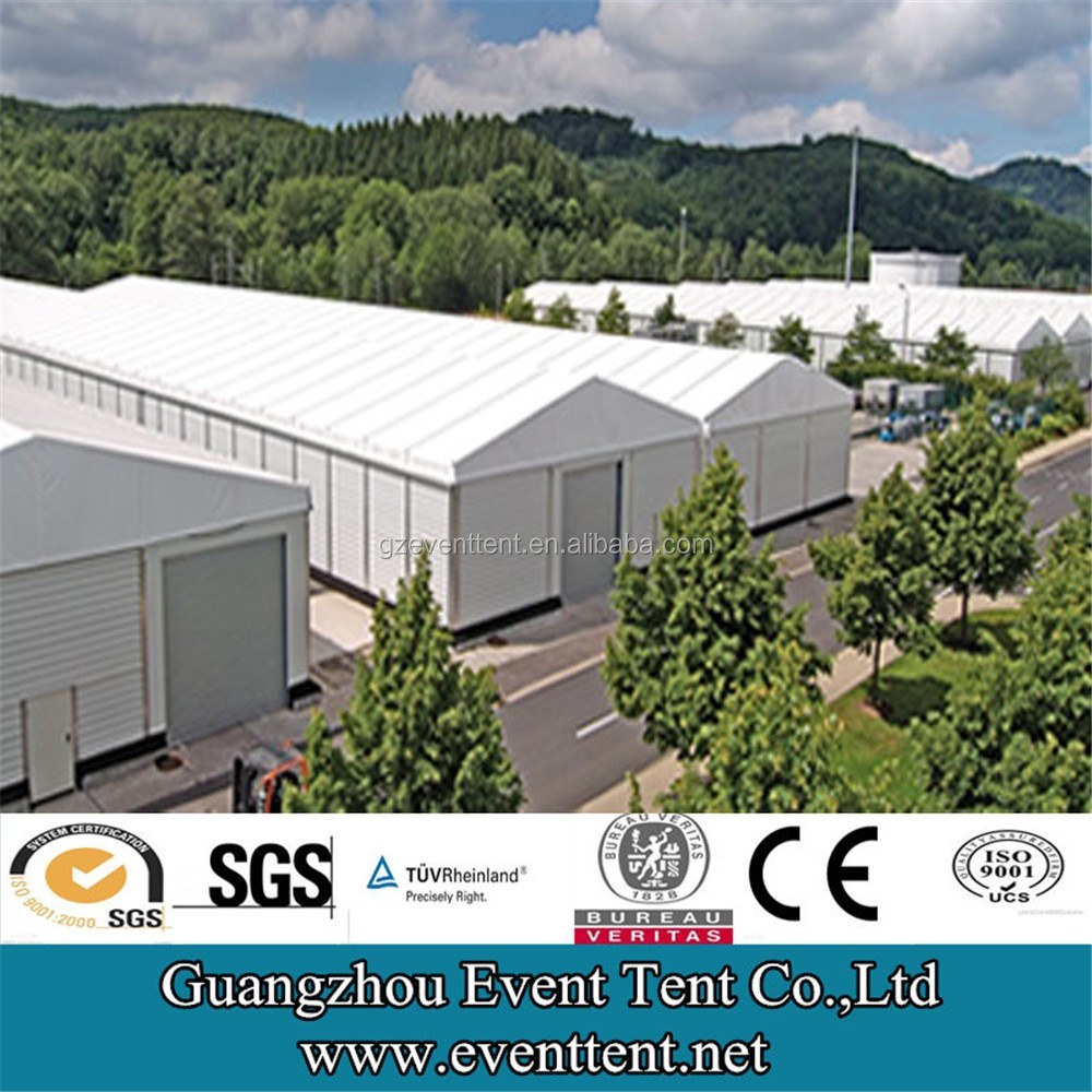 25*100meters big warehouse tent, double twin warehouse storage tent