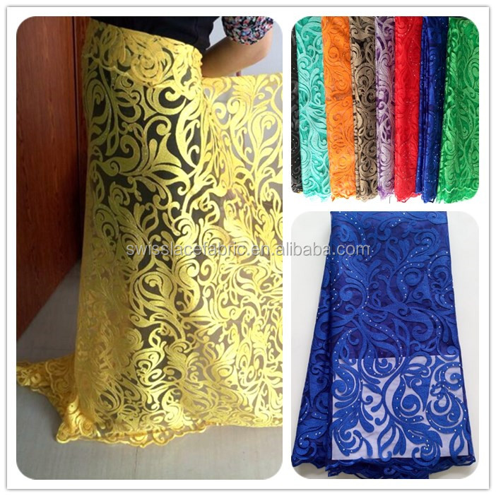2015 high quality african swiss french lace fabric high quality