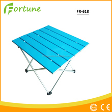 best selling high quality light weight colorful aluminum folding camping talbe for camping / pinic / hiking