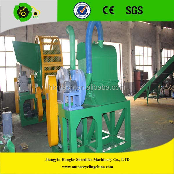 Waste tire recycling rubber granule machine buy waste for Tractor tire recycling