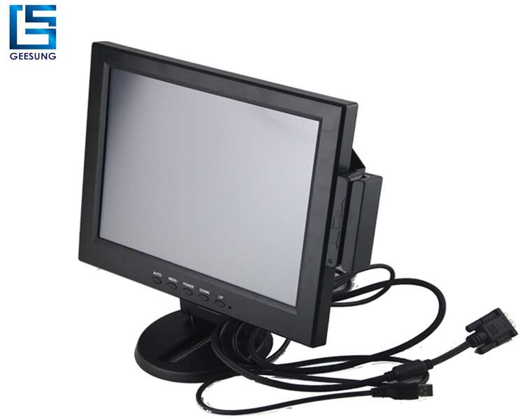hot sale 12 inch VGA Monitor with msr