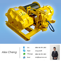 Safety Pulling doube Drum electric winch 3 ton Manufacturer