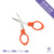 0500003 Lovely mini size foldable stainless steel scissors for fishing
