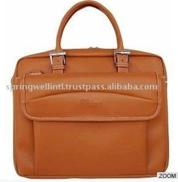 Brown Fashionable Female Stylish Laptop Bags