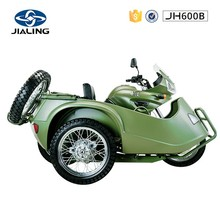 JH600B 2017 new motorcycle and tricycle scooter with sidecar for sale