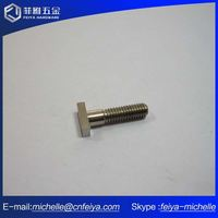Excellent Quality Hexagonal Machine Bolts And Screws M3 With Plastic Flat Head