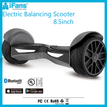 UL2272 Inglateable Two Wheels Electric Scooter CE For Adult With Bluetooth Speaker Mobile APP