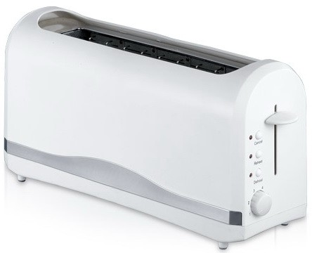 Hot Selling 1 Long Slot 2 Slice Toaster Plastic housing