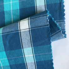 factory 100% cotton yarn dyed woven check plain pajamas fabric and lining for garments