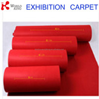 red color gel backing polyester frbic ribbed disposable