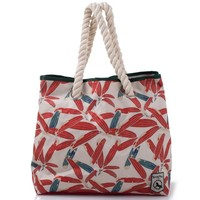2016 Red leave Printed cheap bag Tote Bag