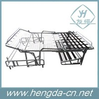 Popular Iron 3 fold sofa bed mechanism /metal bed frame