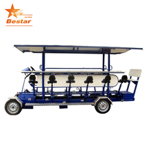 15 person 4 wheel pedal party beer bike for sale