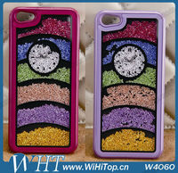 Watch Style Crystal Rhinestone Bling Bling Hard Case for iPhone 5 Diamond Case WHTS002