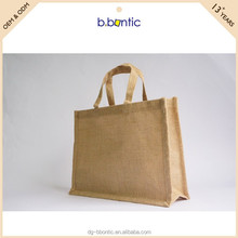 High quality hand made foldable jute shopping bags