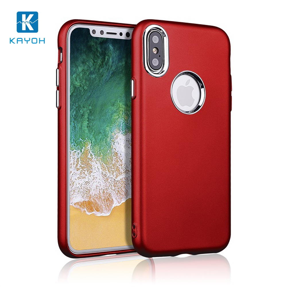 [KAYOH]Cell Phone Cases And Covers for iPhone Metal Hard Cell Phone Case for iPhone X