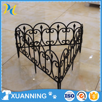 cheap fence european plastic small garden fence plastic retractable fencing for gardens