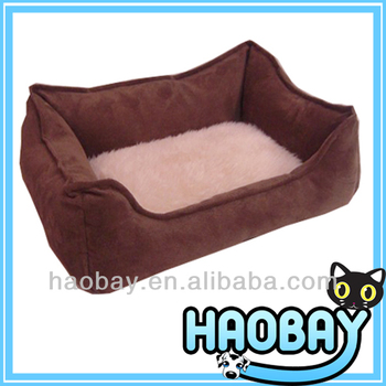 Soft High Plush Beautiful Decorative Dog Bed