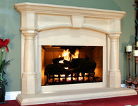 Electric Fireplace | Classic Marble Fireplace Mantel