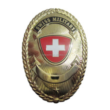 Best Quality Swiss Military Metal Badge