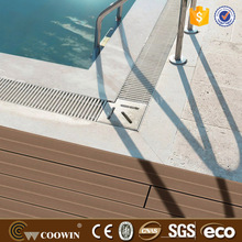 Composite wood/ decking boards WPC wood plastic composite synthetic decking/flooring